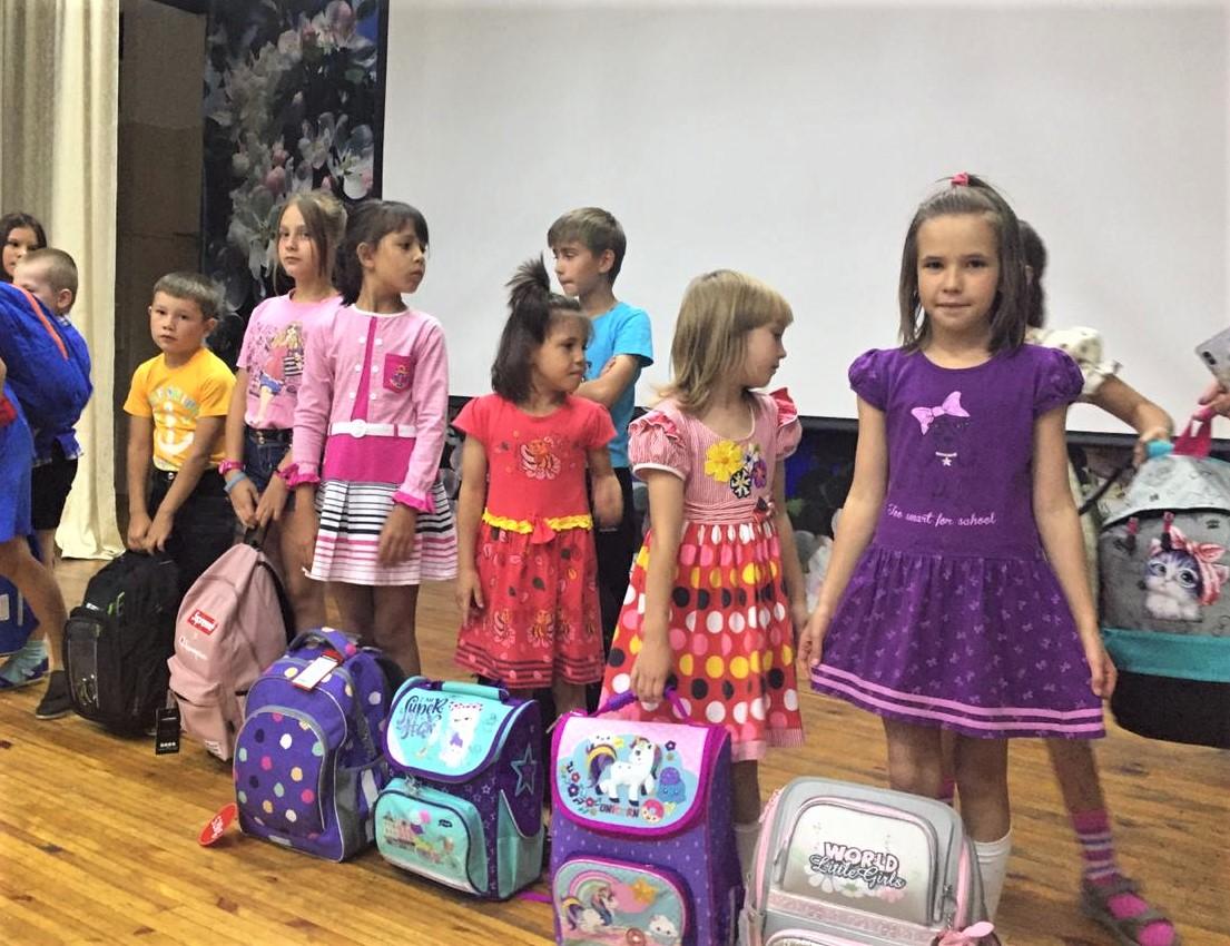Благотворительная акция «Школьный портфель» прошла при поддержке ИНК