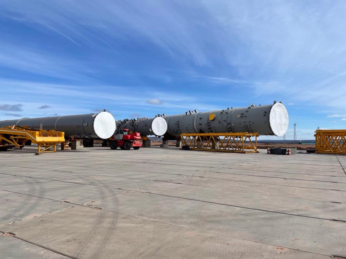 Иркутский завод полимеров в июне приступит к монтажу крупногабаритного оборудования